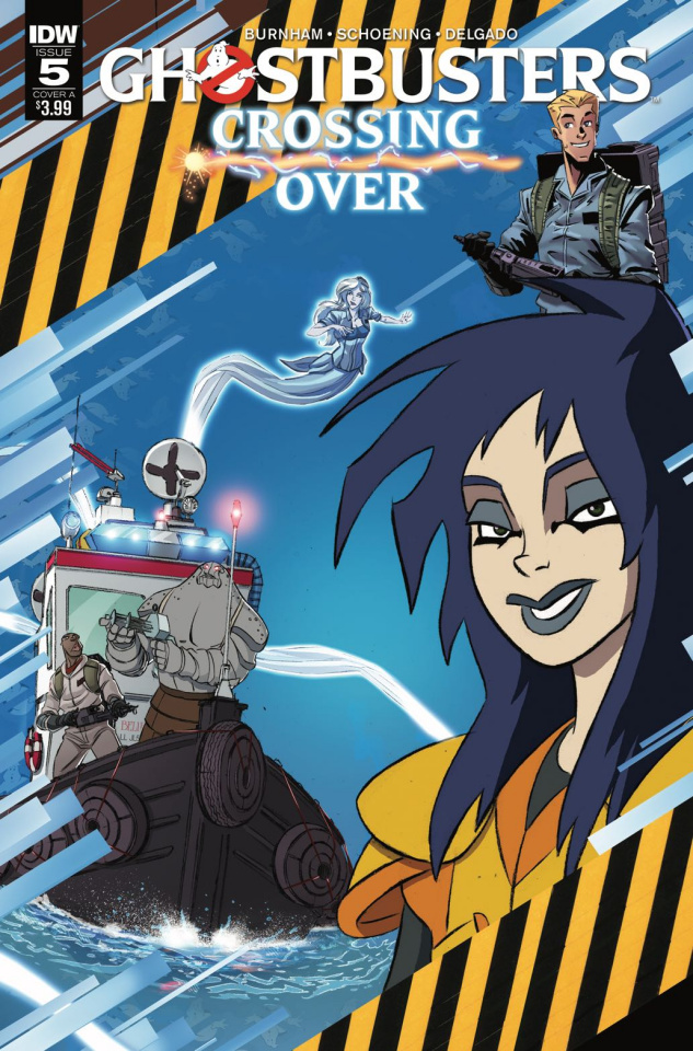 Ghostbusters: Crossing Over #5 (Schoening Cover)