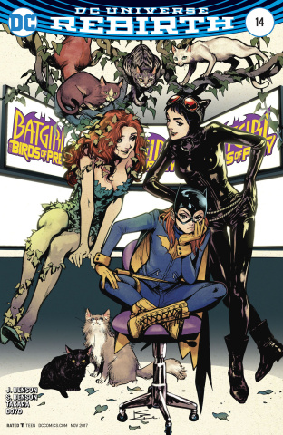 Batgirl and The Birds of Prey #14 (Variant Cover)