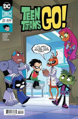 Teen Titans Go! #27