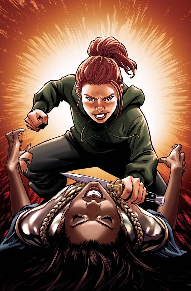Lark's Killer #6 (Moore Cover)