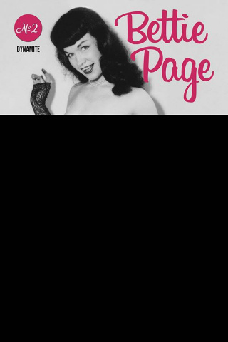 Bettie Page #2 (Black Bag Photo Cover)
