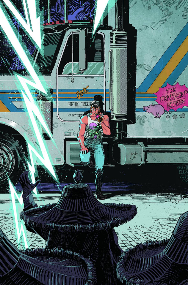 Big Trouble in Little China #14 (20 Copy Coehlo Cover)
