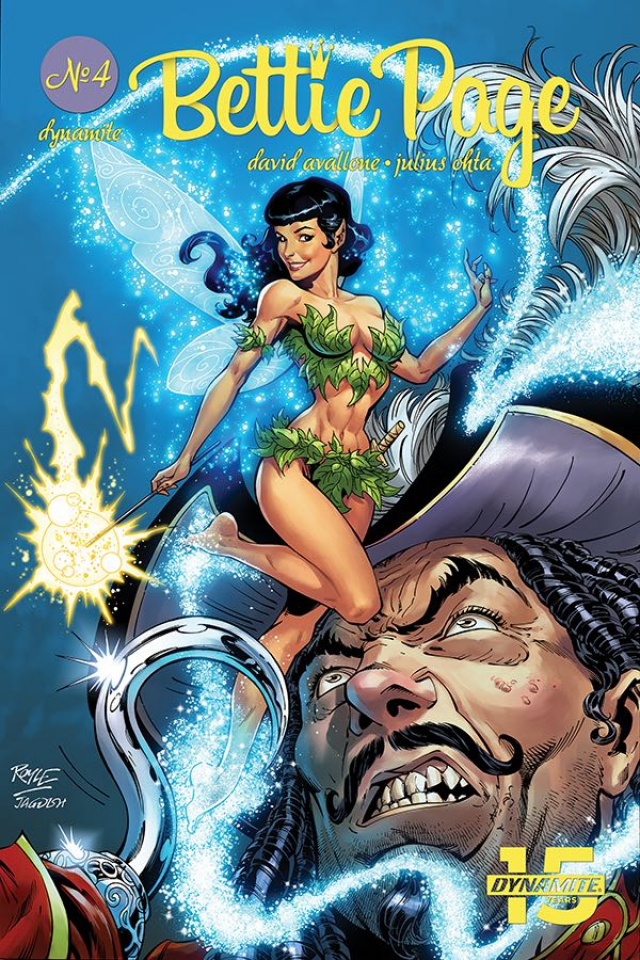 Bettie Page: Unbound #4 (Royle Cover)