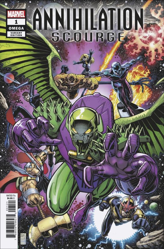 Annihilation Scourge Omega #1 (Art Adams Cover)