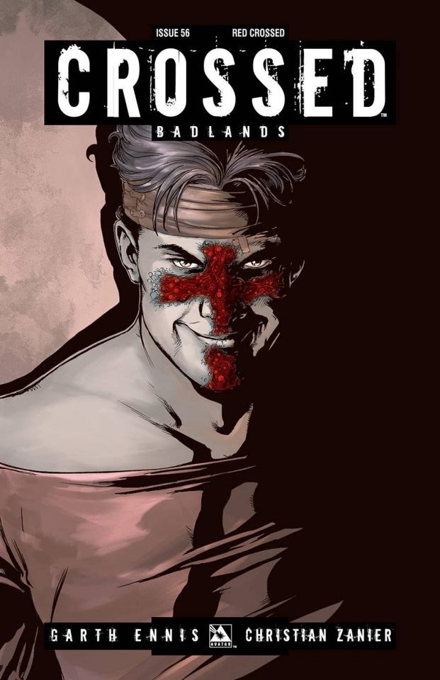 Crossed: Badlands #56 (Red Crossed Cover)