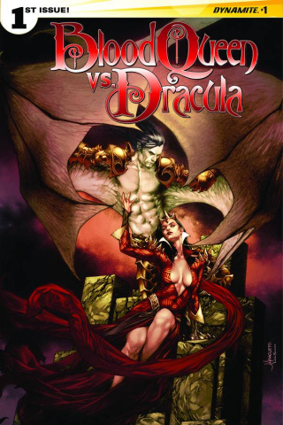 Blood Queen vs. Dracula #1 (Anacleto Cover)