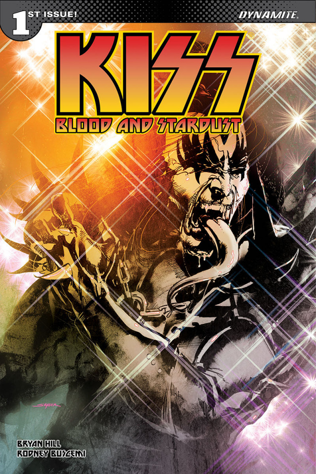 KISS: Blood and Stardust #1 (50 Copy Sayger Demon Signed Cover)