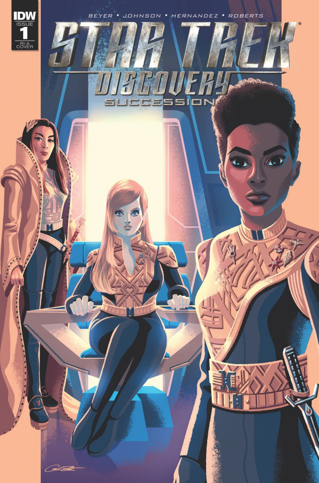 Star Trek: Discovery - Succession #1 (10 Copy Cover)