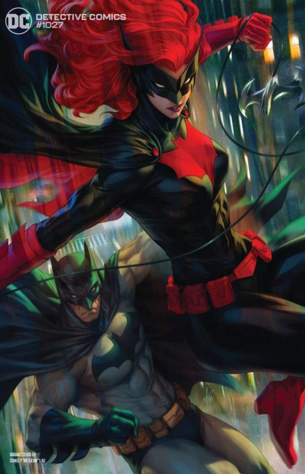 Detective Comics #1027 (Stanley Artgerm Lau Batman Batwoman Cover)