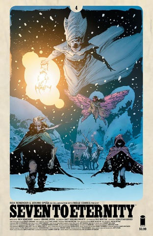 Seven to Eternity #4 (Opena & Hollingsworth Cover)