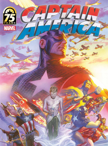 Captain America: 75th Anniversary Magazine #1 (Ross Cover)