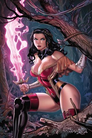 Grimm Fairy Tales #46 (Ortiz Cover)