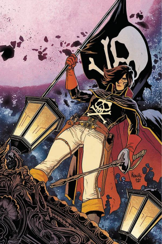 Space Pirate: Captain Harlock #1 (Paquette Cover)