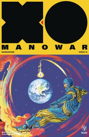 X-O Manowar #18 (20 Copy Interlocking Fish Cover)