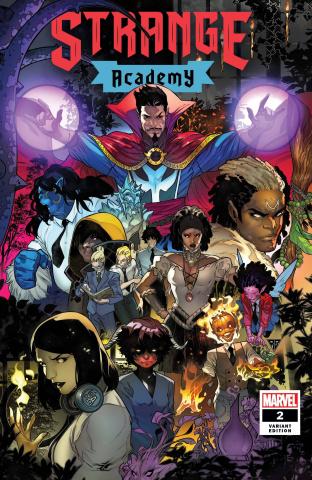 Strange Academy #2 (Silva Cover)