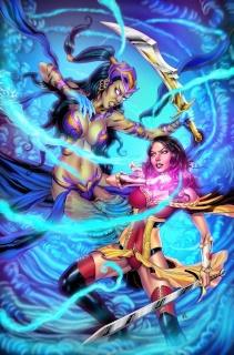 Grimm Fairy Tales #3 (Otero Cover)