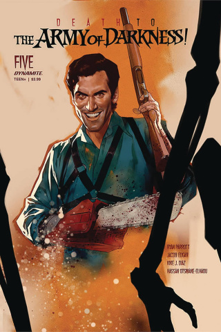 Death to the Army of Darkness #5 (Oliver Cover)