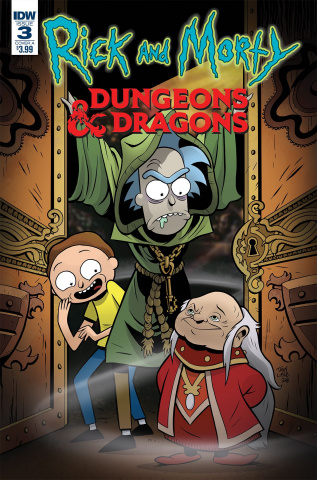 Rick and Morty vs. Dungeons & Dragons #3 (Little Cover)
