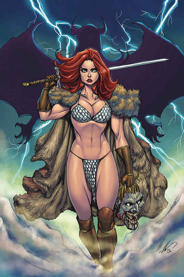 Red Sonja: Age of Chaos #6 (Garza Virgin Cover)