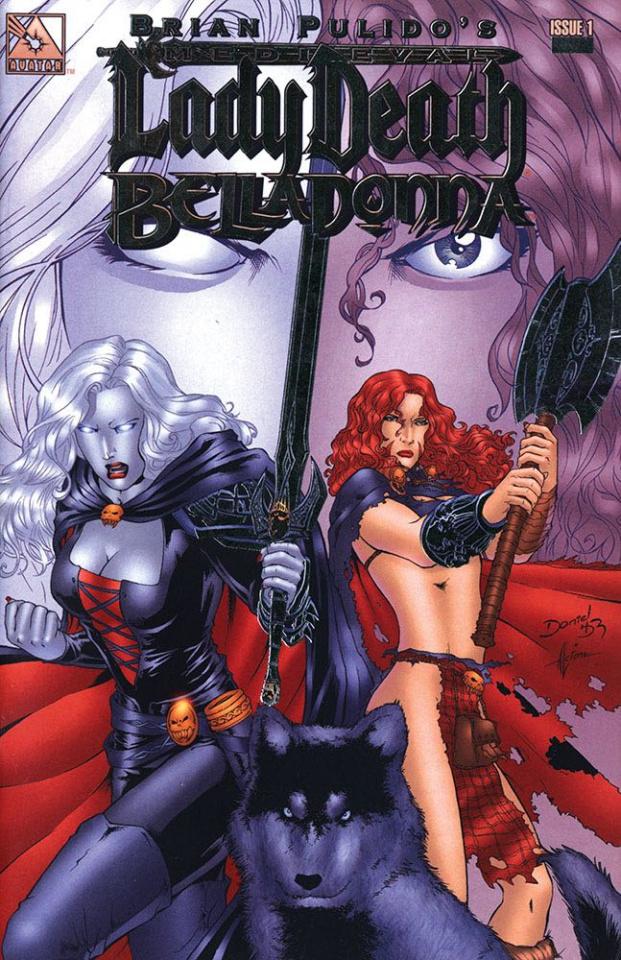 Medieval Lady Death / Belladonna #1 (Platinum Foil Covr)