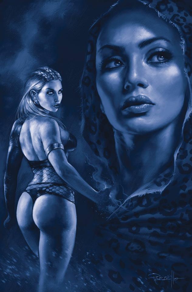 Sacred Six #7 (35 Copy Parrillo Tint Virgin Cover)