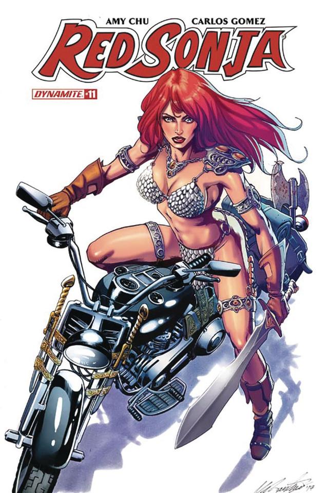 Red Sonja #11 (Santucci Cover)