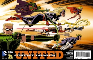 Justice League United #7 (Darwyn Cooke Cover)