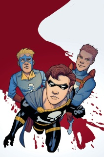 Project Superpowers: Hero Killers #1 (25 Copy Cover)