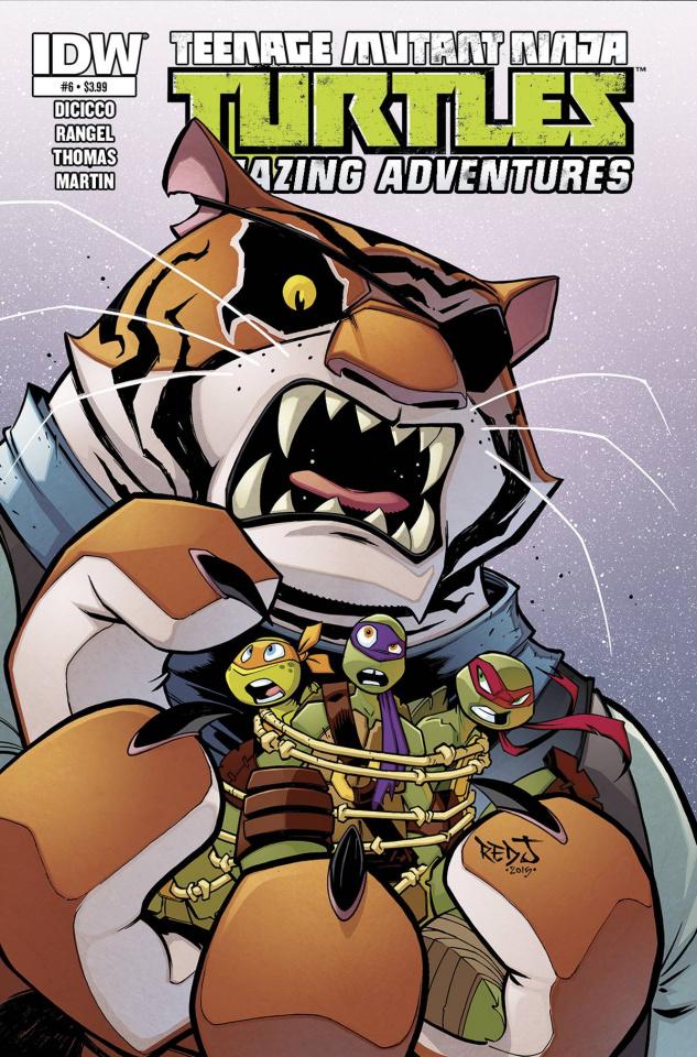 Teenage Mutant Ninja Turtles: Amazing Adventures #6