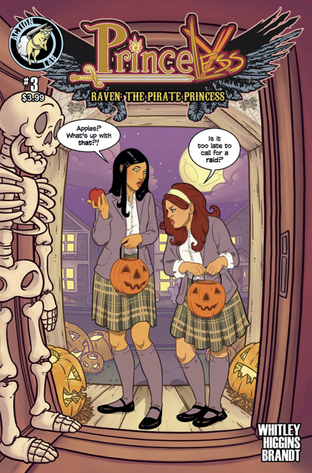 Princeless: Raven, The Pirate Princess #3 (Halloween Cover)