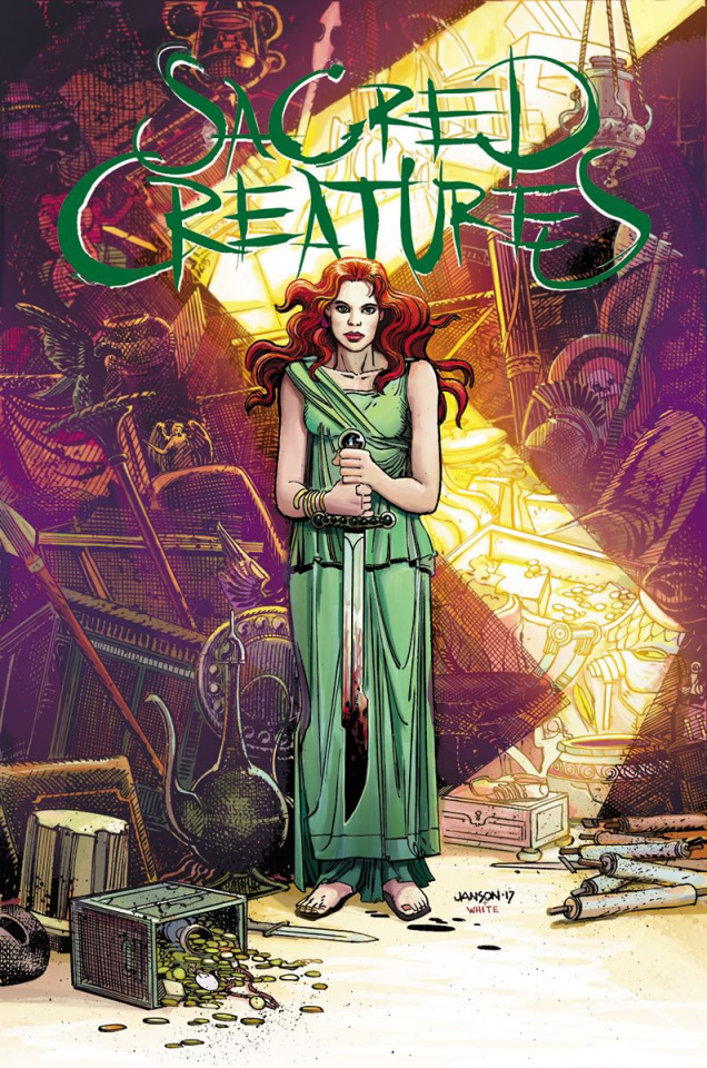 Sacred Creatures #4 (Janson Cover)