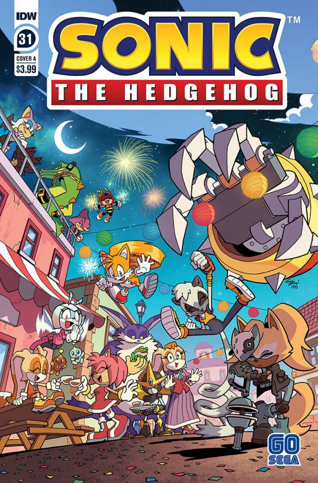 Sonic the Hedgehog #31 (Yardley Cover)