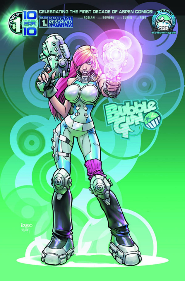 BubbleGun #1 (Aspen Reserved Cover)