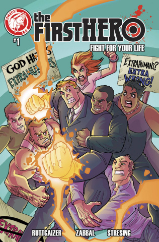The F1rst Hero: Fight For Your Life #1 (Gaylord Cover)