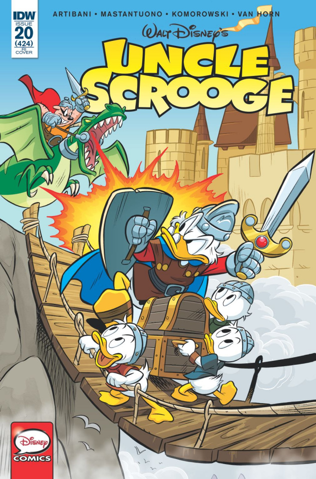 Uncle Scrooge #20 (10 Copy Cover)
