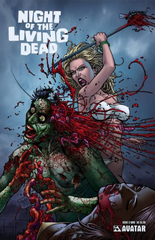 Night of the Living Dead #3 (Gore Cover)