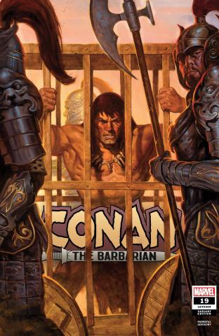 Conan the Barbarian #19 (Gist Cover)