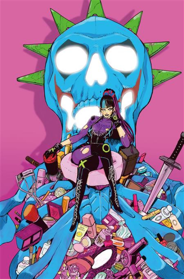 The Joker #8 (Acky Bright Cover)