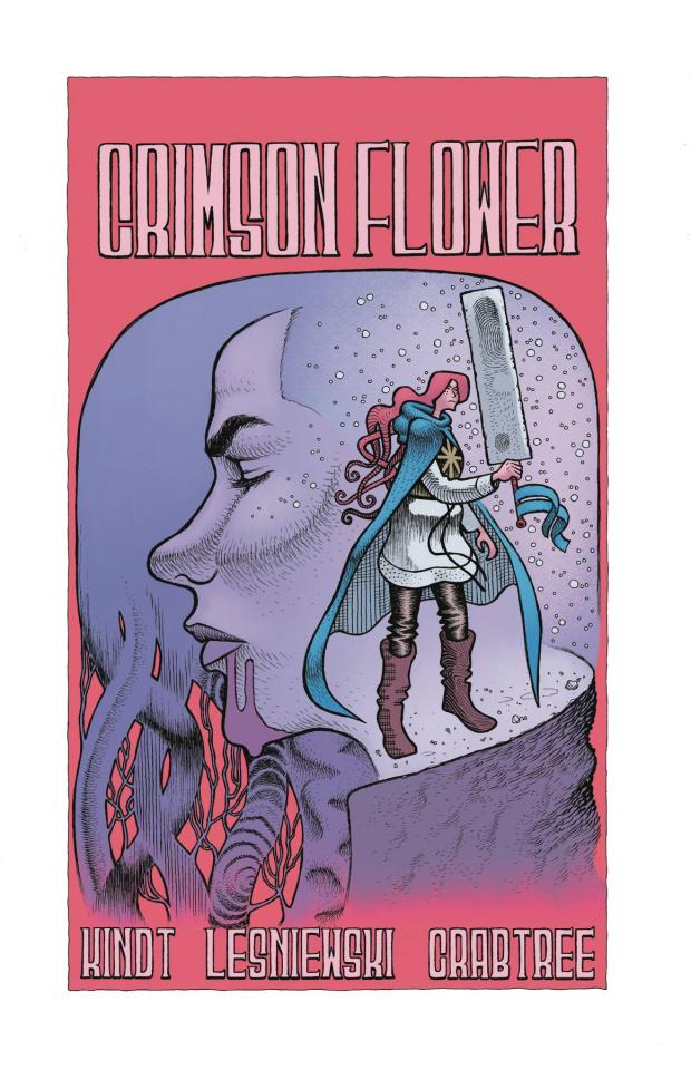 Crimson Flower #4 (Lesniewski Cover)