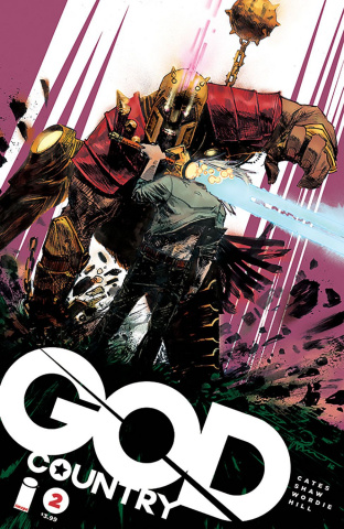 God Country #2 (Zaffino Cover)