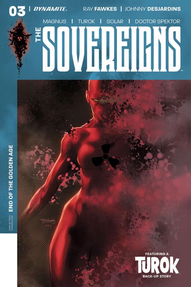The Sovereigns #3 (Segovia Cover)