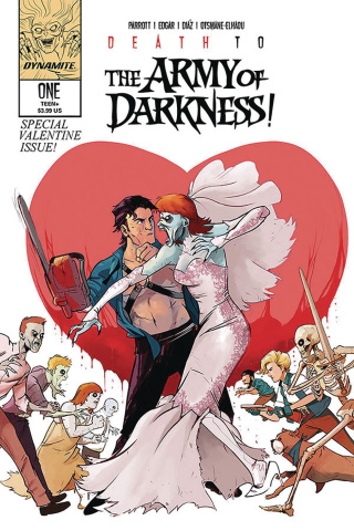 Death to the Army of Darkness #1 (Piriz Cover)