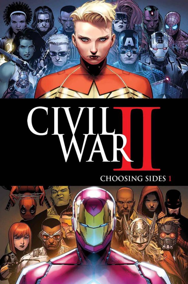 Civil War II: Choosing Sides #1