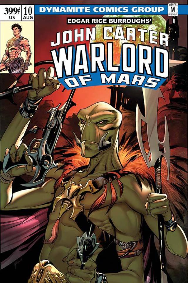 John Carter: Warlord of Mars #10 (Lupacchino Cover)