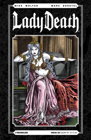 Lady Death #25 (Calgary VIP Cover)
