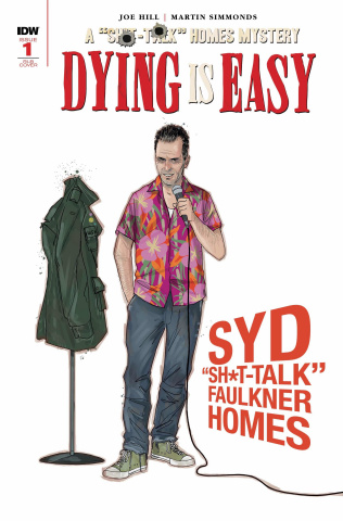 Dying Is Easy #1 (25 Copy Character Wrap Cover)