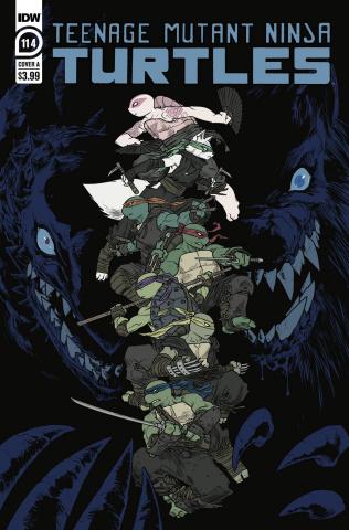 Teenage Mutant Ninja Turtles #114 (Sophie Campbell Cover)