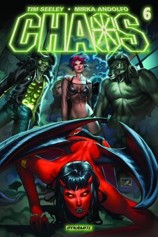 Chaos #6 (Ruffino Cover)