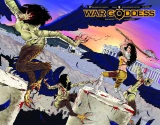War Goddess #5 (Wrap Cover)
