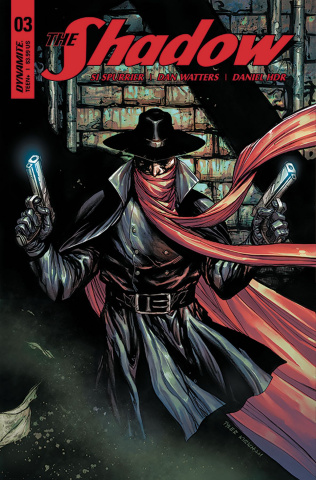 The Shadow #3 (Kirkham Cover)